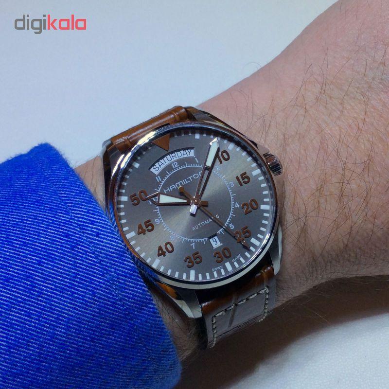 خرید ساعت مچی عقربه ای مردانه همیلتون مدل h64615735
