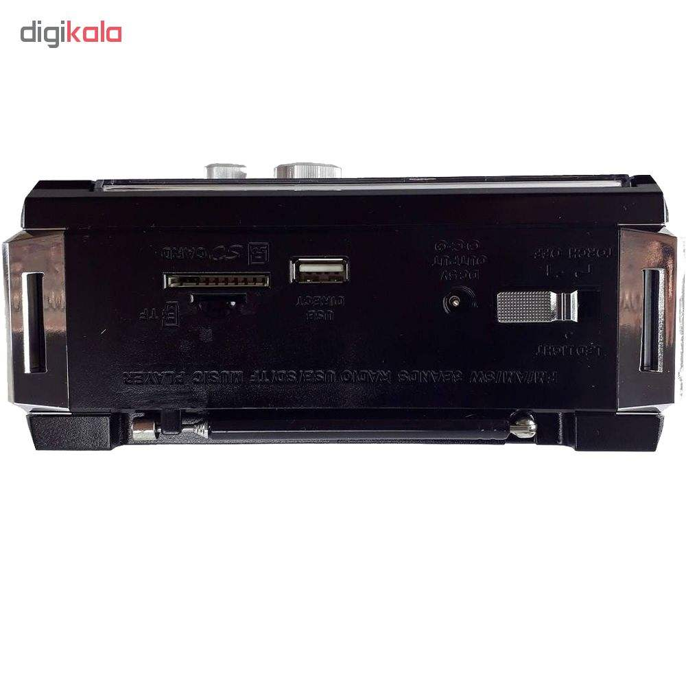 رادیو بلوتوثی گولون مدل RX-381BT main 1 7
