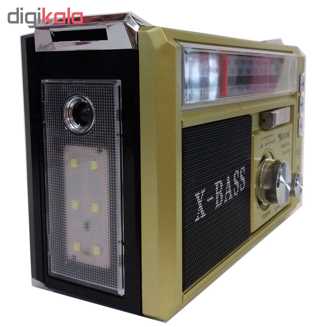 رادیو بلوتوثی گولون مدل RX-381BT main 1 6