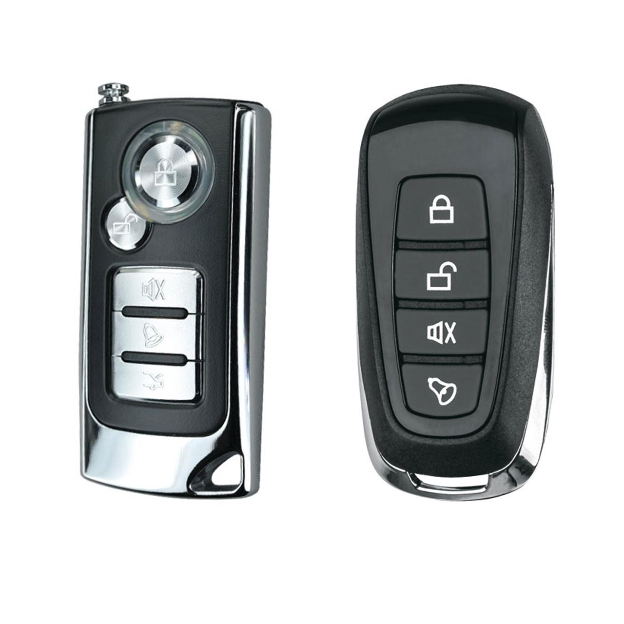 دزدگیر خودرو استیلاک مدل هوتای کد ریموت HUATAI Car Alarm Stelock A554 TX1000