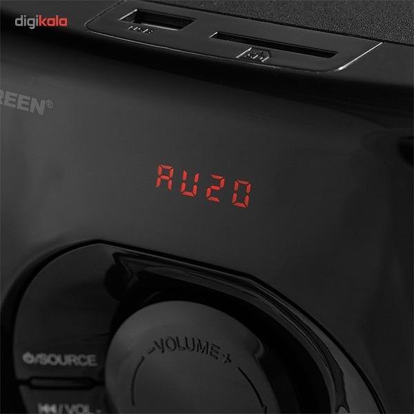 پخش کننده خانگی کامپیوتر گرین مدل GS325-R main 1 2