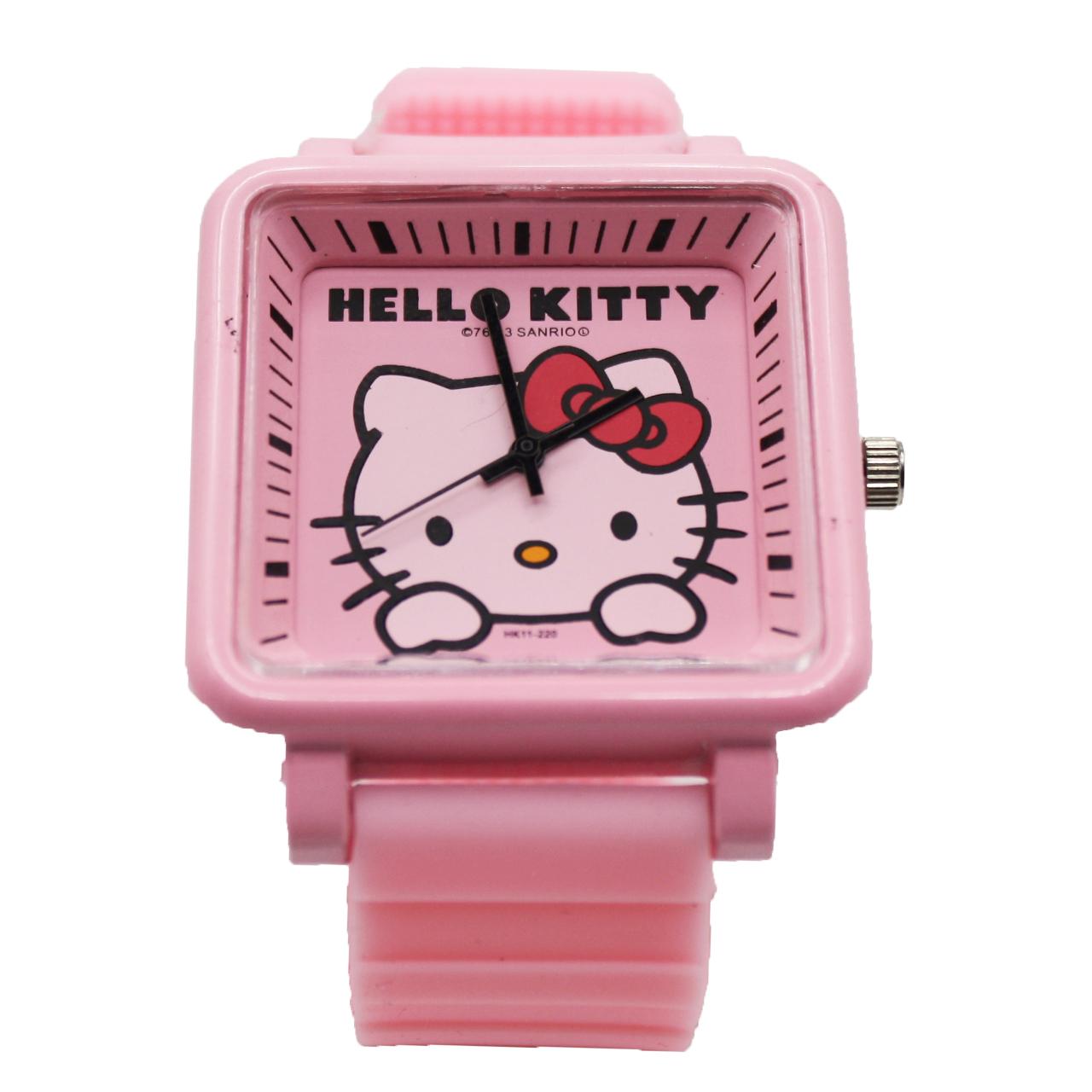خرید ساعت مچی عقربه ای بچه گانه هلو کیتی  مدل AF20