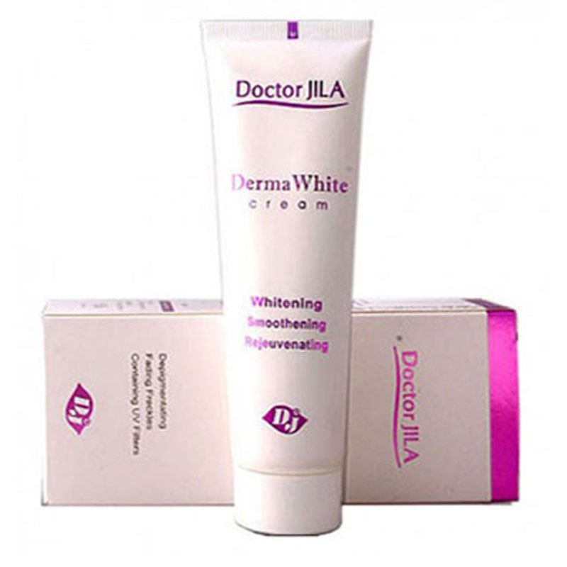 کرم ضد لک دکتر ژیلا مدل Derma White حجم ۵۰ میلی گرم