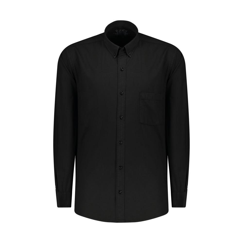 پیراهن مردانه پاتن جامه کد 98MR8691 رنگ مشکی