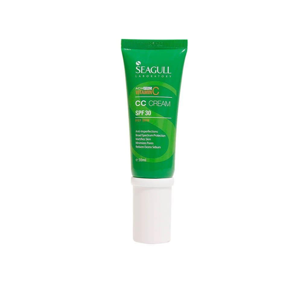 قیمت کرم ضد آفتاب سی گل سری ACN PRO مدل CC Cream حجم ۵۰ میلی لیتر