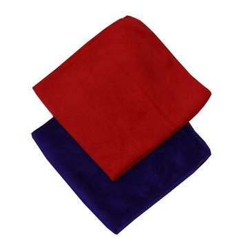 دستمال نظافت میکرو فایبر  مدل 240 بسته 2 عددی