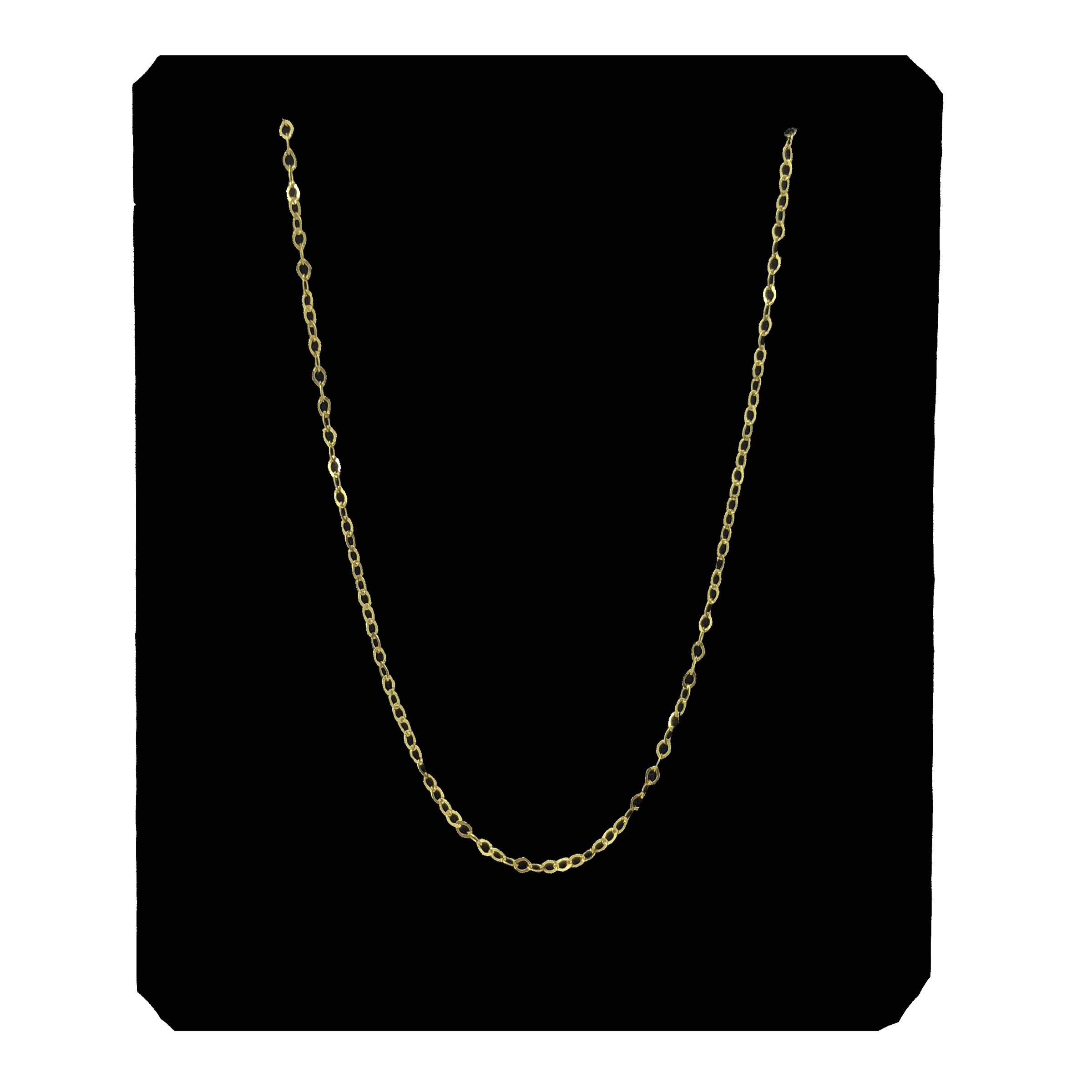 قیمت زنجیر طلا 18 عیار مدل G150