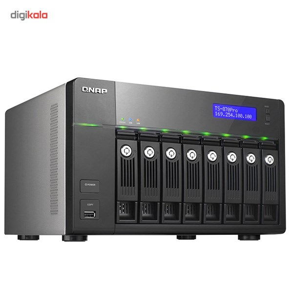 ذخیرهساز تحت شبکه کیونپ مدل TS-870 Pro بدون هارددیسک