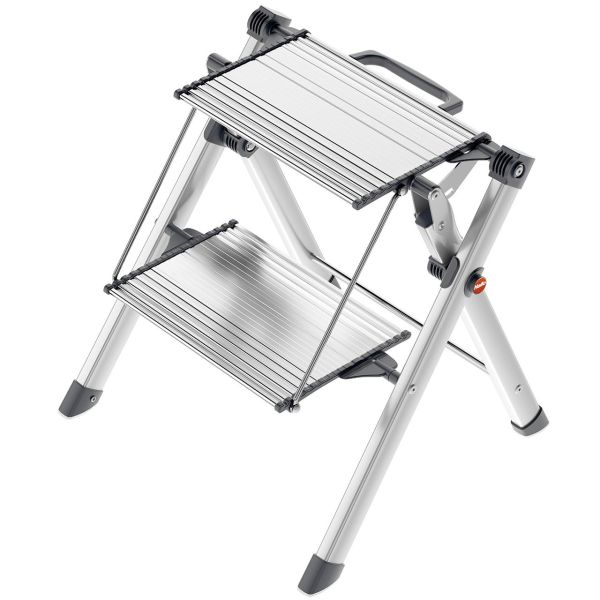نردبان کوچک دو پله هایلو مدل Mini Comfort-4310100