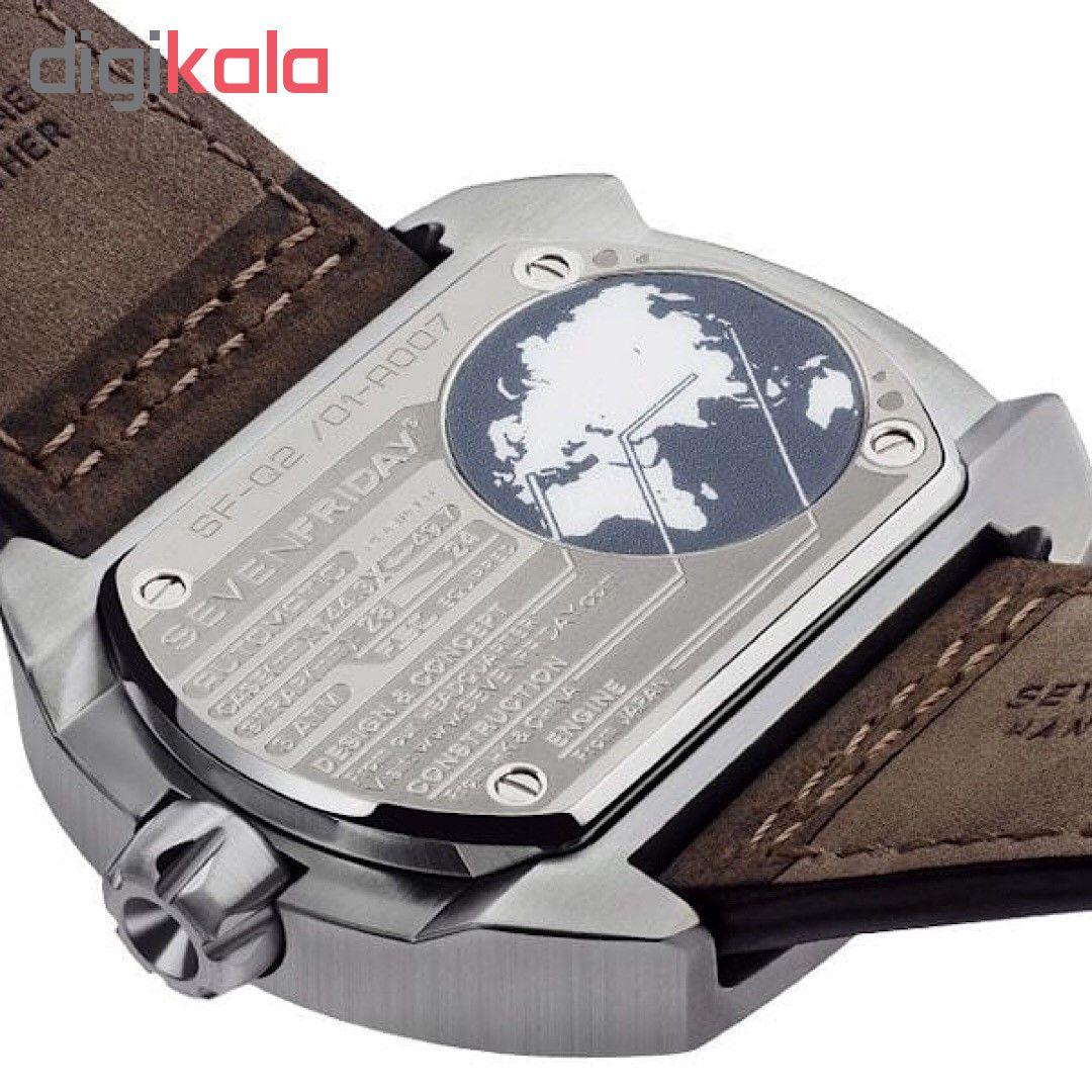 خرید ساعت مچی عقربه ای مردانه سون فرایدی مدل SF-Q2/01 | ساعت مچی