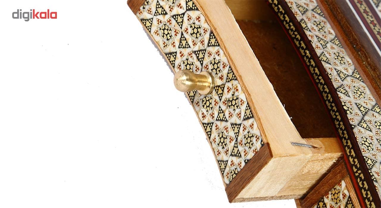 Inlay handicraft holder pen of Honarmandan gallery, code 1197