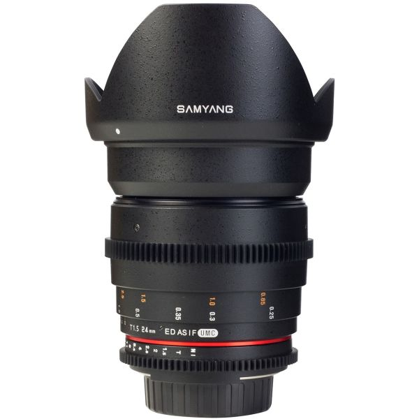 لنز سامیانگ  24mm T1.5 ED AS UMC VDSLR Canon