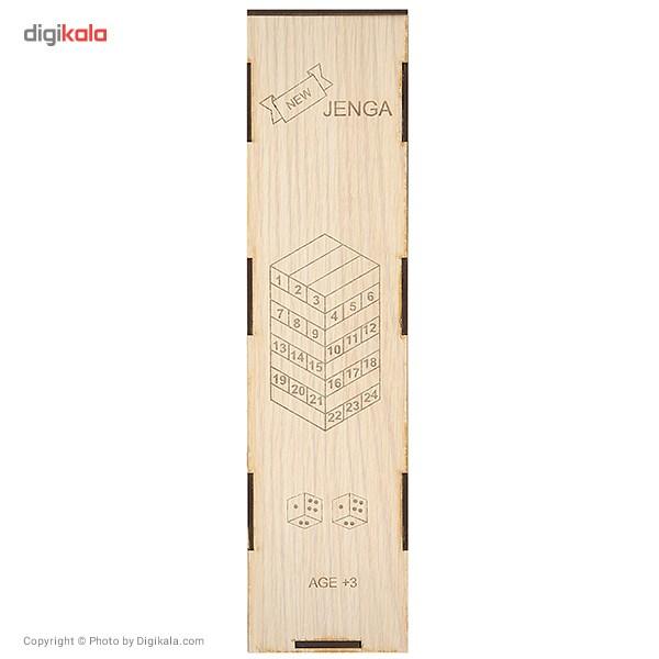 بازی جنگا مدل Wooden 48 Pcs