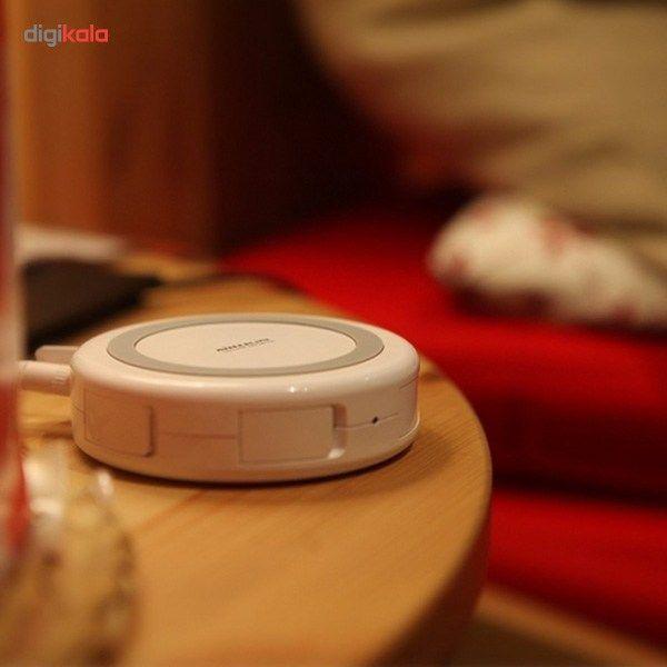 شارژر بی سیم و هاب 4 پورت USB 3.0 نیلکین مدل Hermit main 1 8