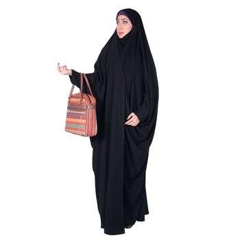 چادر بحرینی شهر حجاب مدل کرپ کریستال کد 8040
