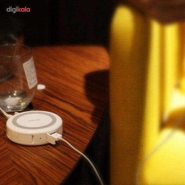 شارژر بی سیم و هاب 4 پورت USB 3.0 نیلکین مدل Hermit main 1 9