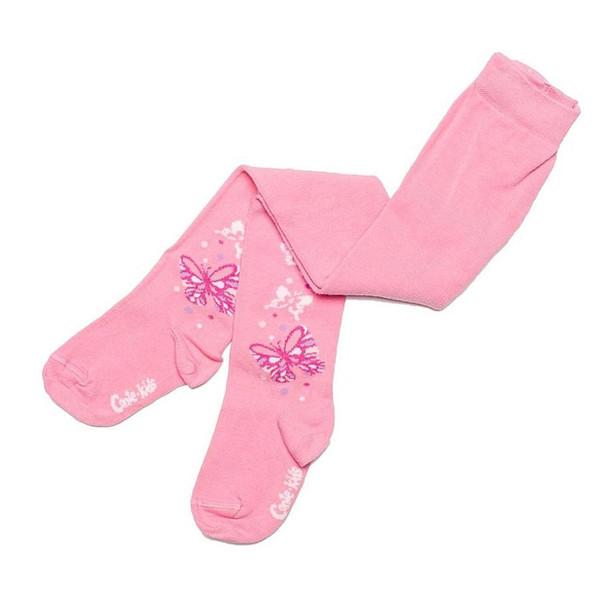جوراب شلواری دخترانه کنته کیدز طرح پروانه