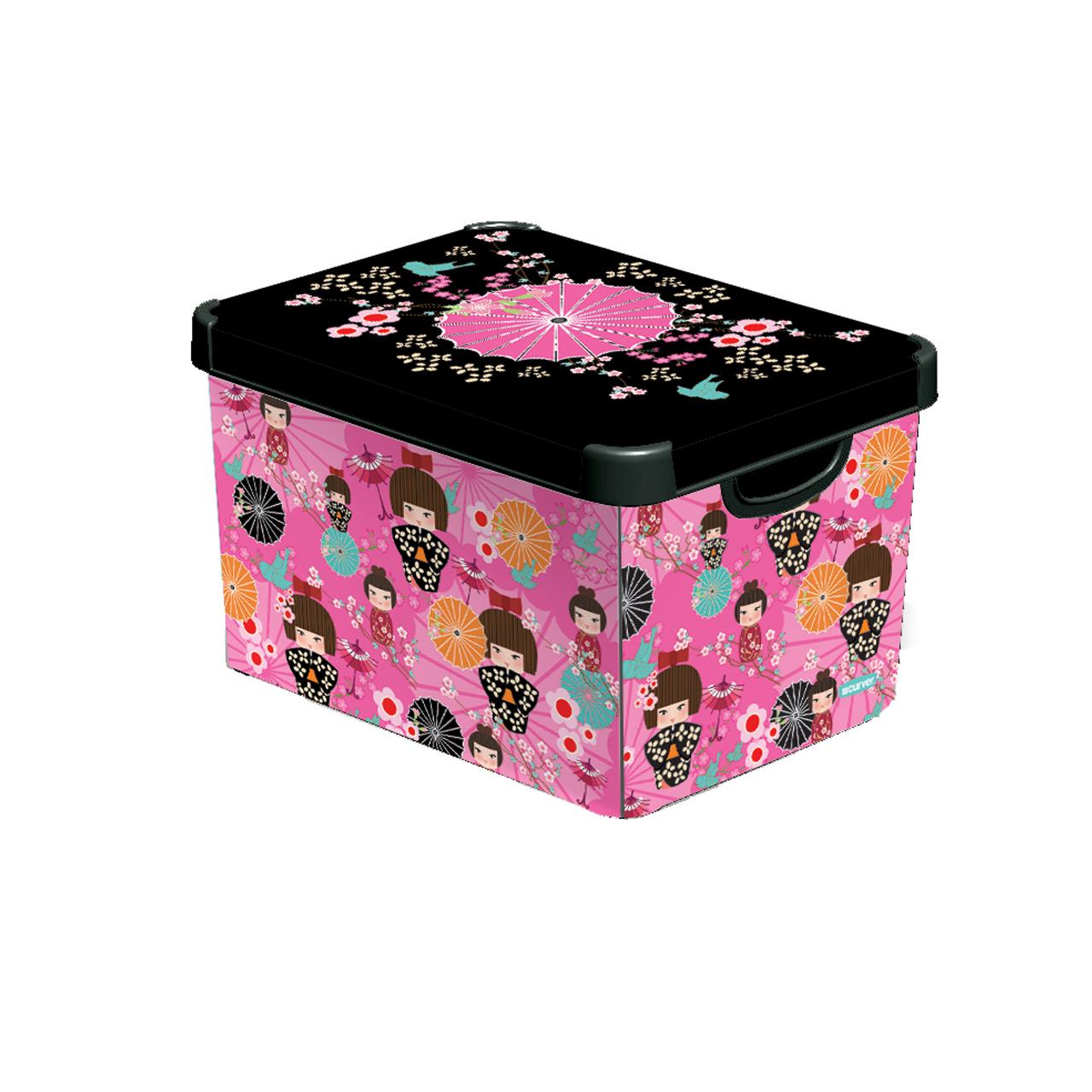 جعبه دکوری کرور مدل JAPANESE GIRLS