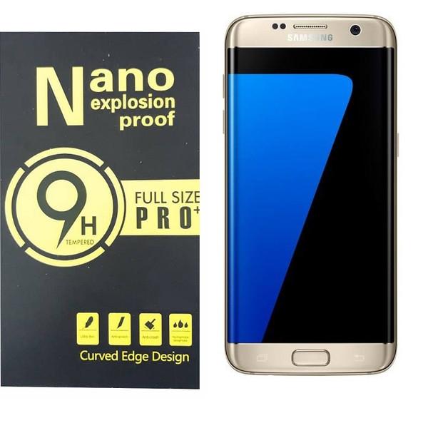 محافظ صفحه نمایش و پشت گوشی مدل TPU NANO مناسب برای گوشی موبایل سامسونگ Galaxy S7 edge