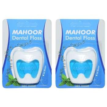 نخ دندان ماهور مدل Dental Floss بسته 2 عددی