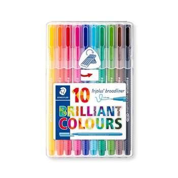 روان نویس استدلر  10 رنگ Triplus کد 338-SB10