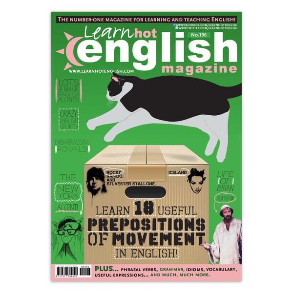 مجله Learn Hot English شماره 196 سپتامبر 2018