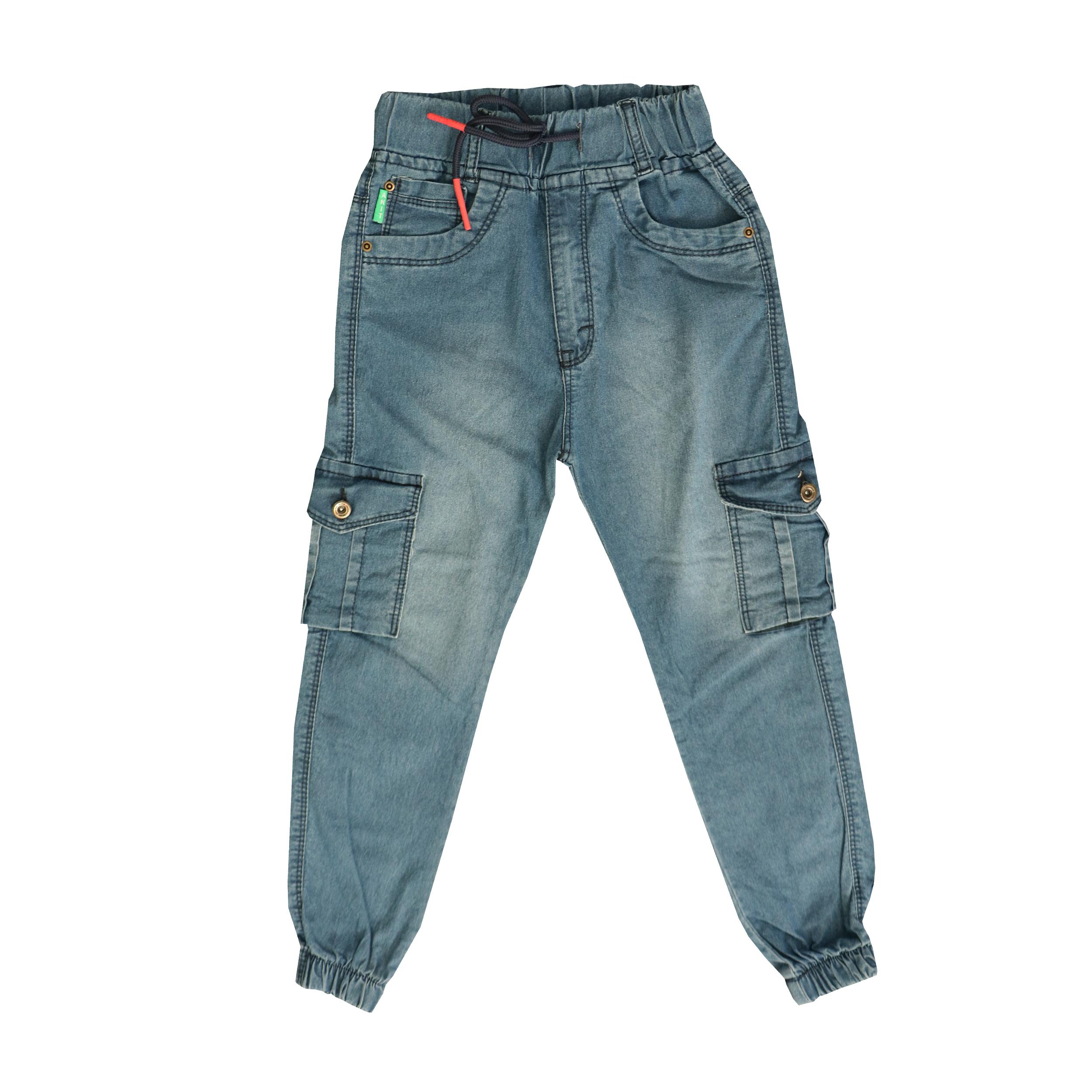شلوار جین بچگانه مدل 000414