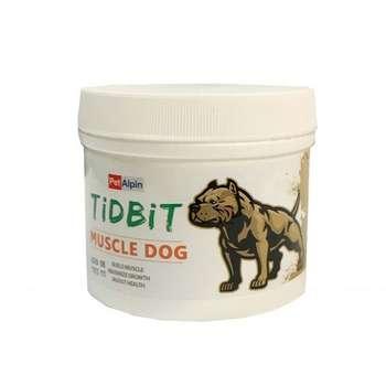 غذای مکمل سگ تیدبیت مدل muscle_dog وزن 180 گرم
