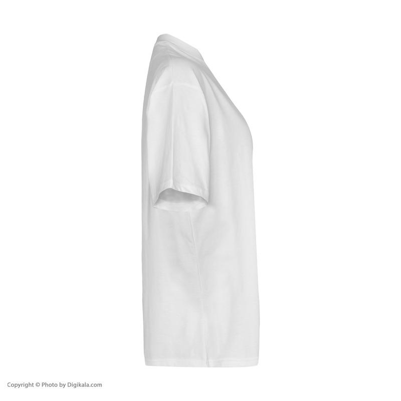 تی شرت آستین کوتاه زنانه گری مدل H43