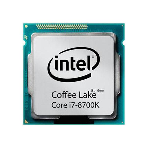 پردازنده مرکزی اینتل سری Coffee Lake مدل Core i7-8700K تری