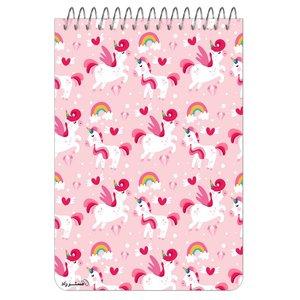 دفترچه یادداشت مستر راد طرح اسب تک شاخ کد unicorn 1334