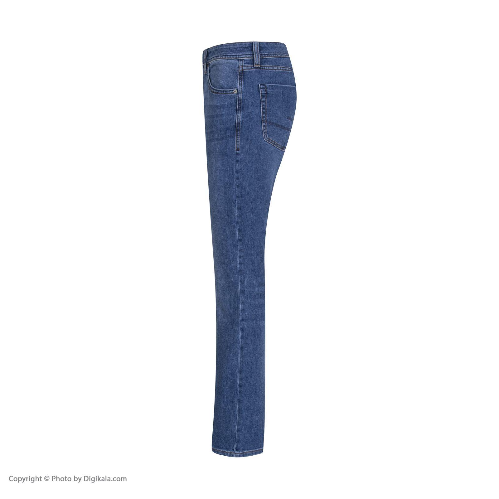شلوار جین مردانه کالینز مدل CL1019135-LIGHTTROYWASH -  - 4