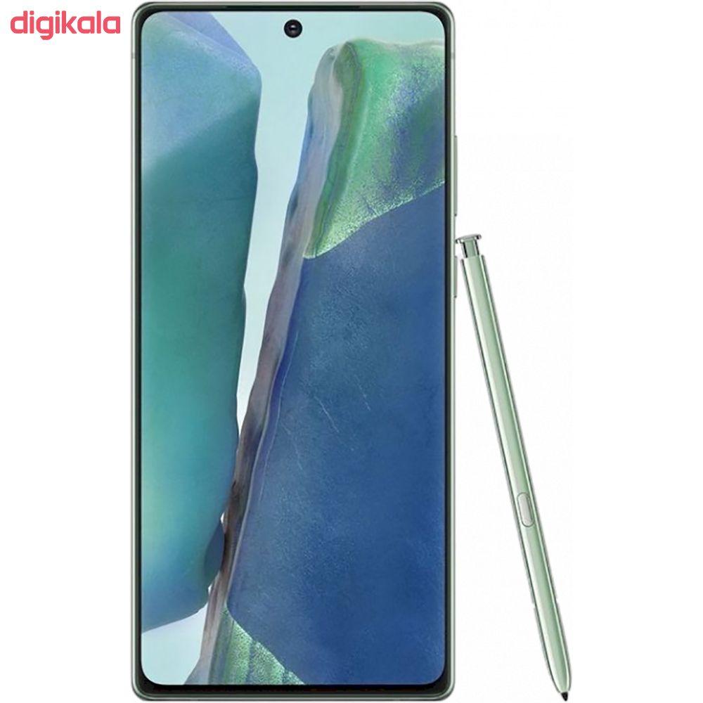 گوشی موبایل سامسونگ مدل Galaxy Note20 SM-N980F/DS دو سیم کارت ظرفیت 256 گیگابایت main 1 12