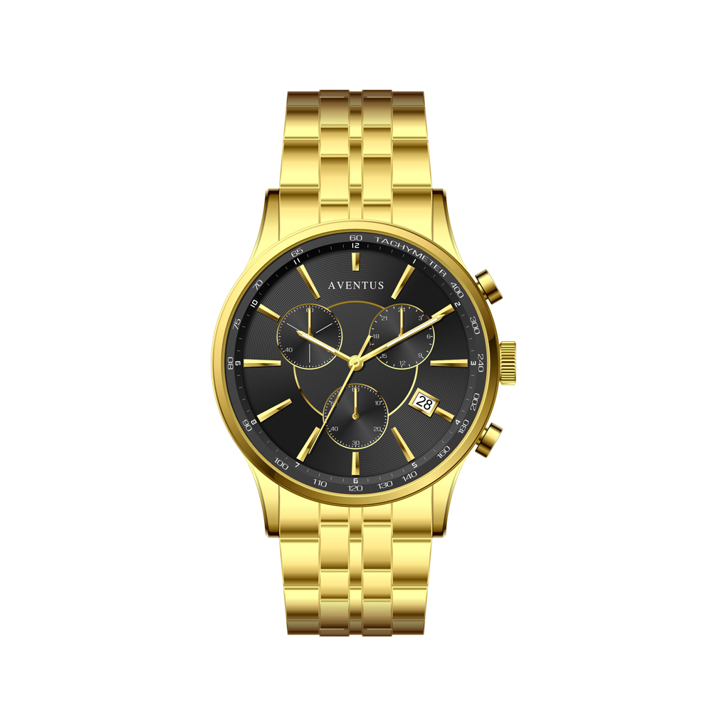 ساعت مچی عقربه ای مردانه اونتوس مدل 1348-2GBK