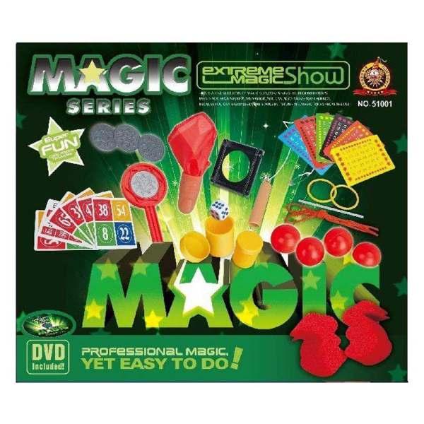 ست ابزار شعبده بازی مدل F2052