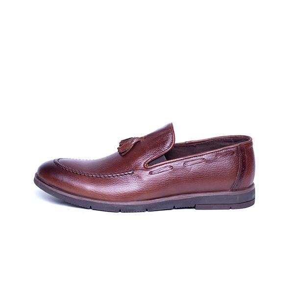 کفش مردانه آناک چرم مدل کالج -02