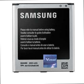 باتری مدل i9500 ظرفیت 2600 میلی آمپرساعت مناسب برای گوشی سامسونگ Galaxy S4