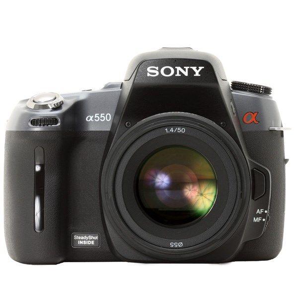 دوربین دیجیتال سونی دی اس ال آر-آلفا 550