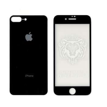 محافظ صفحه نمایش و پشت شیشه ای مدل تی تی مناسب برای گوشی موبایل Iphone 7/8 Plus