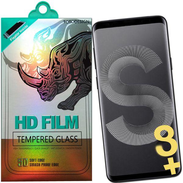 محافظ صفحه نمایش توتو تمام چسب مدل HD1075D برای گوشی موبایل سامسونگ S8 Plus