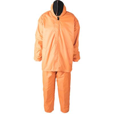 لباس کار بادگیر ضد آب سبلان پارچه شمعی پشت لاستیک داخل نمدی نارنجی