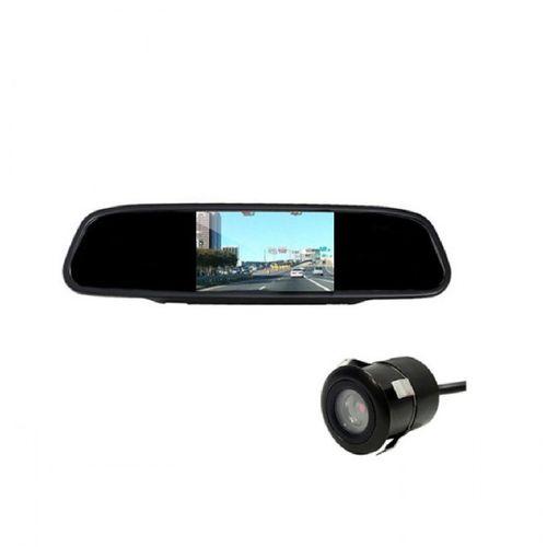 آینه مانیتور دار و دوربین دنده عقب خودرو  بوستر مدل BSM-1045C
