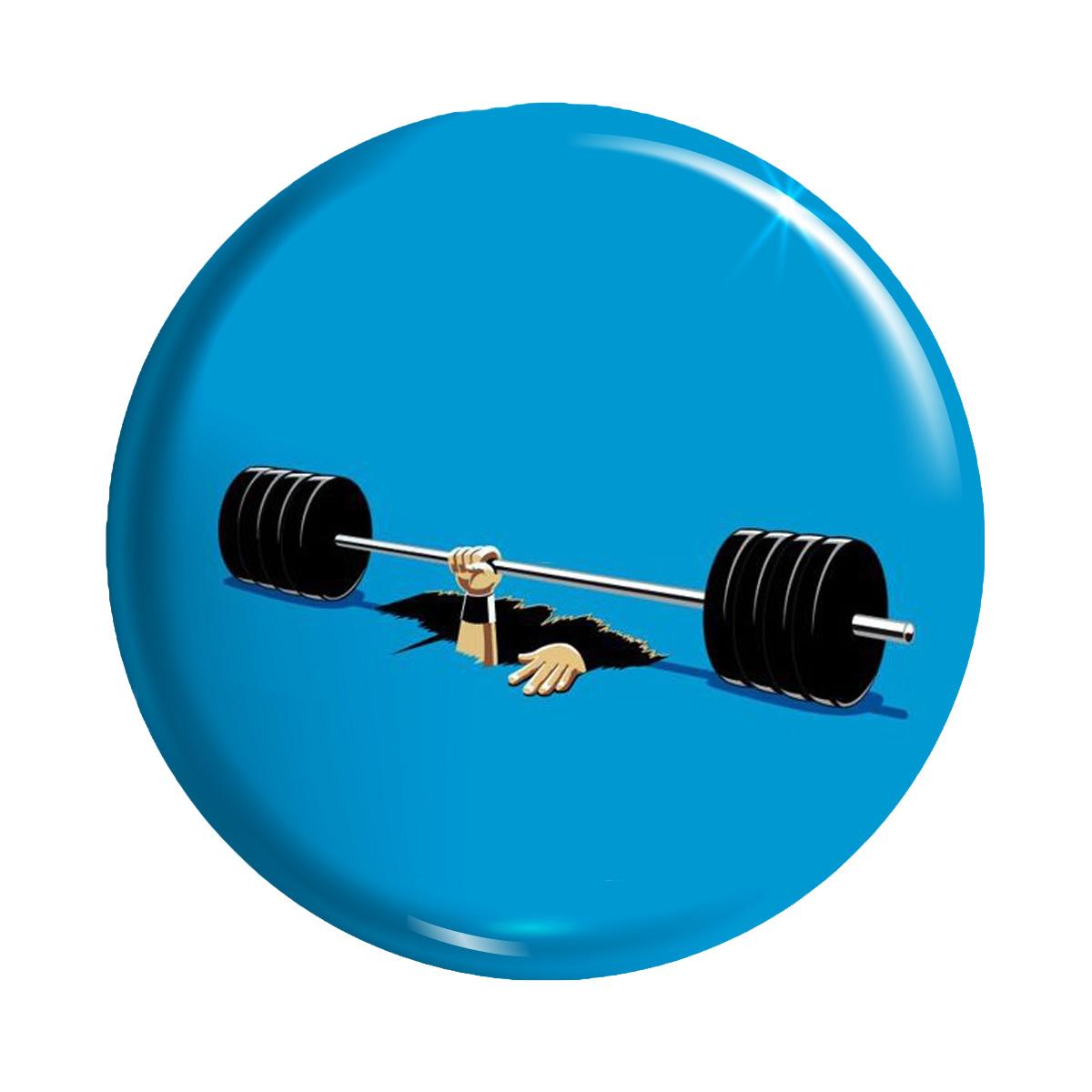 پیکسل تیداکس طرح ورزشی بدنسازی دمبل فیتنس کد TiD031