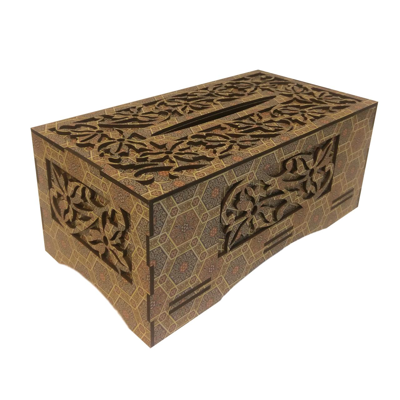 جعبه دستمال کاغذی مدل کلاسیک