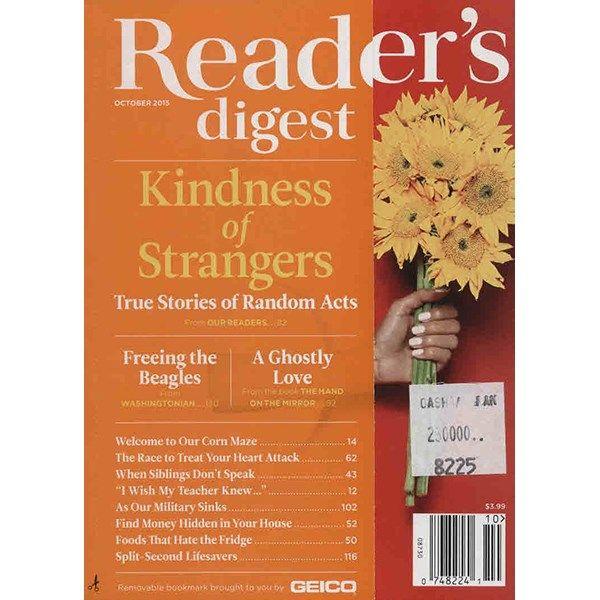 مجله ریدرز دایجست - اکتبر 2015