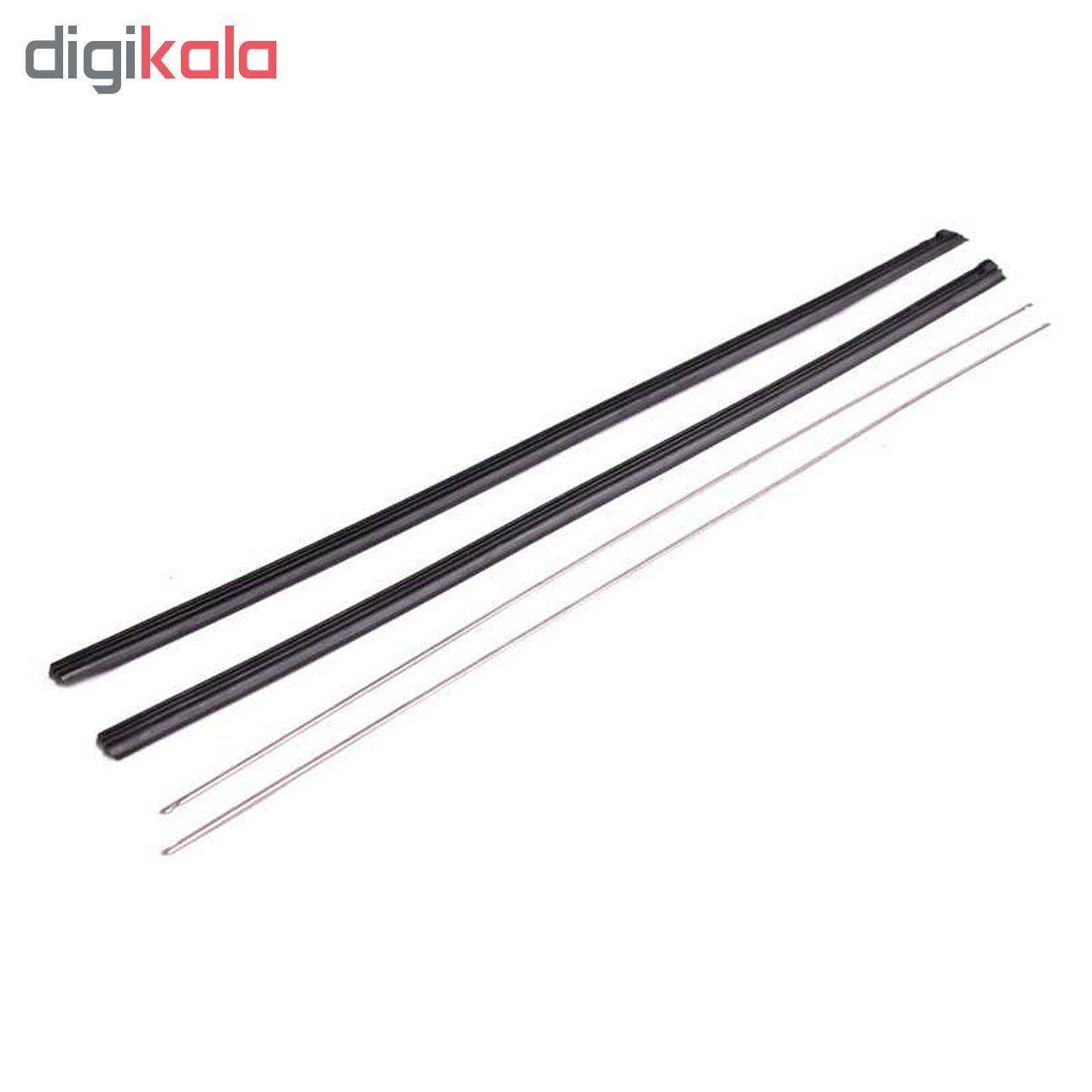 لاستیک تیغه برف پاکن بی.اس.کو مدل S4 مناسب برای پراید main 1 2