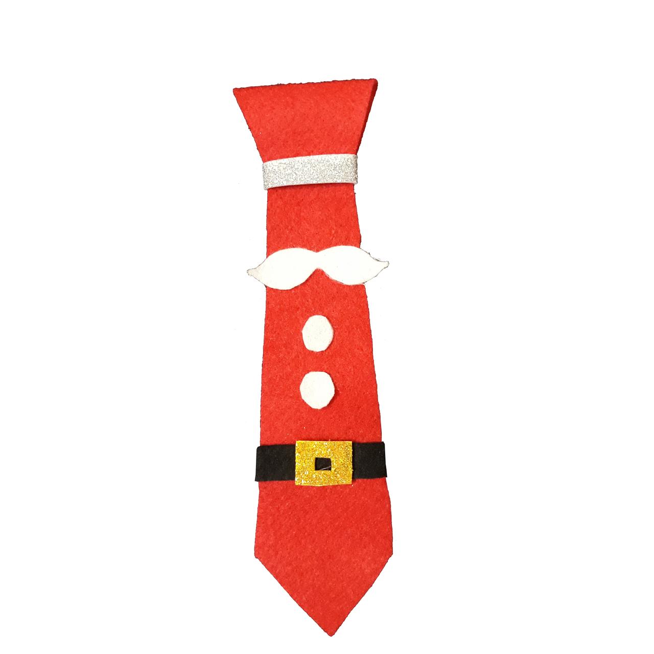 عکس کراوات کریسمس طرح بابا نوئل