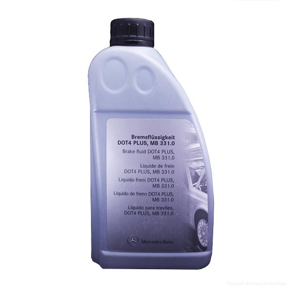روغن ترمز خودرو مرسدس بنز مدل 331.0 ظرفیت 1 لیتر