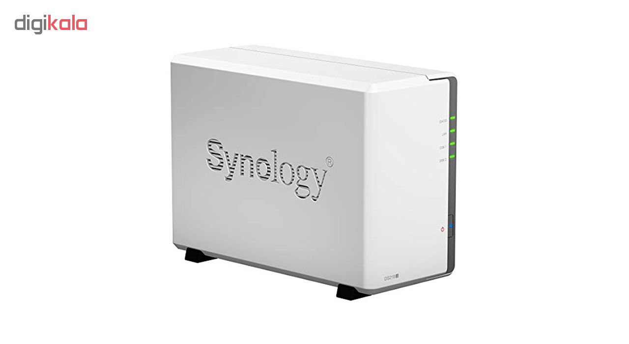 ذخیره ساز تحت شبکه 2Bayسینولوژی مدل  DS218j