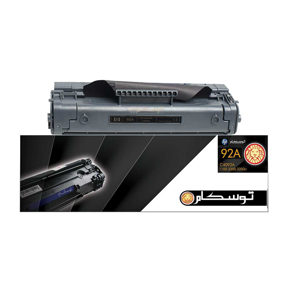تونر مشکی توسکام مدل HP 92A